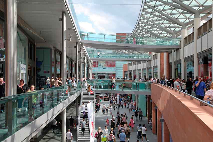 Allies and Morrison _ The central shopping complex _ Liverpool